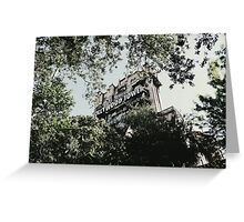 Hollywood Tower Hotel Greeting Card