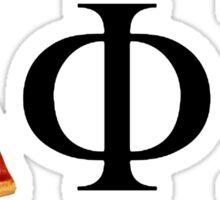 Delta Phi Epsilon Pizza Sticker