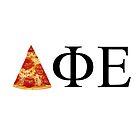 Delta Phi Epsilon Pizza by courtneygbates