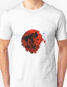 ET and Darth Vader Go Home Design Unisex T-Shirt