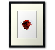 ET and Darth Vader Go Home Design Framed Print