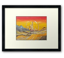 To Gallifrey  Framed Print
