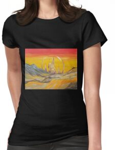 To Gallifrey  Womens Fitted T-Shirt