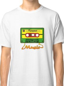 Reggae Tape Design Classic T-Shirt