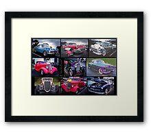 Vintage & Classic Cars Framed Print