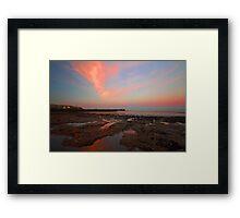 Sunrise At  Whitehaven Shoreline Framed Print