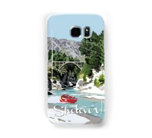 The Shotover River by Ira Mitchell-Kirk Samsung Galaxy Case/Skin