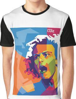"WPAP - ""David Luiz"" Graphic T-Shirt"