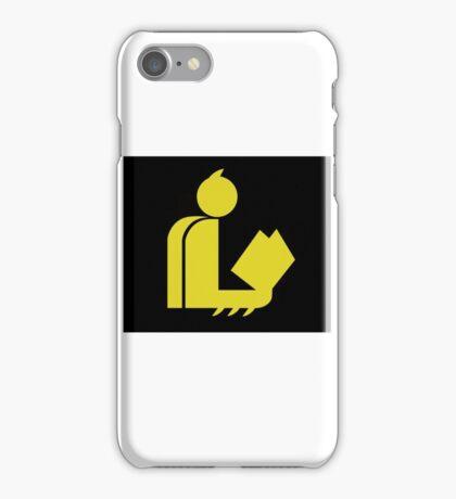 Bat Gentleman Reads iPhone Case/Skin