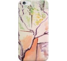 Watercolor trees iPhone Case/Skin