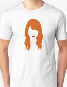 Jenny Lewis Hair & Lips Unisex T-Shirt