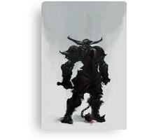 The Black Knight Canvas Print