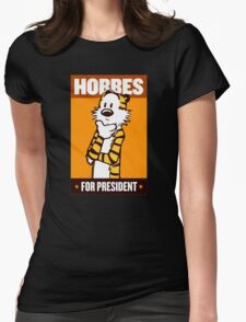 vote president Womens Fitted T-Shirt