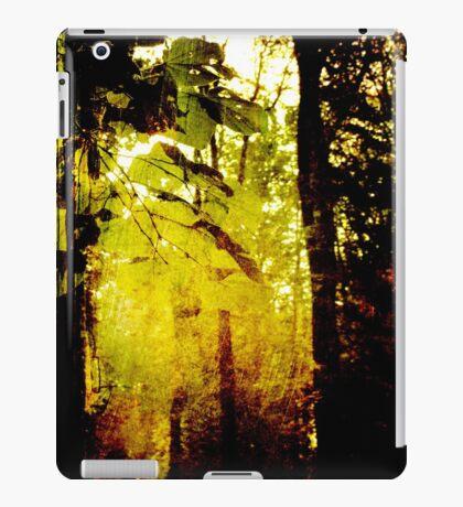 Morning under trees iPad Case/Skin