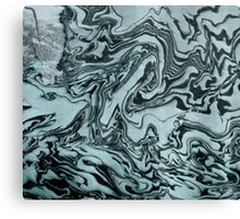Marbled Oceans Canvas Print