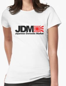 Japanese Domestic Market JDM (2) Womens Fitted T-Shirt