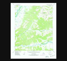 USGS TOPO Map Alaska AK Livengood A-3 357085 1953 63360 Unisex T-Shirt