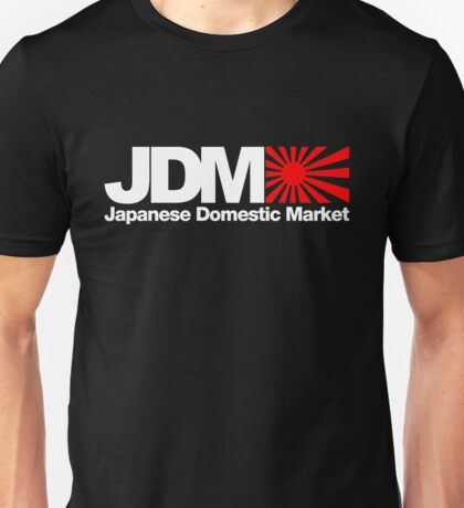 Japanese Domestic Market JDM (3) Unisex T-Shirt