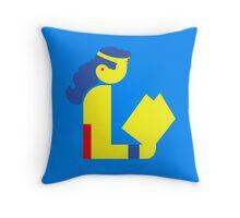 Wonder Lady Reads Throw Pillow