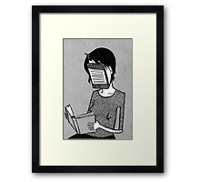 Modern Reader Framed Print