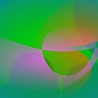 Abstract Green Lotus Leaf by masabo
