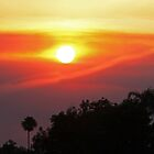 Smoky SoCal Sunset by Chet  King