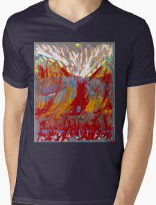 I Mens V-Neck T-Shirt