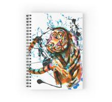 Dancing Tiger Spiral Notebook