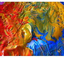Farbe ist Kunst Photographic Print