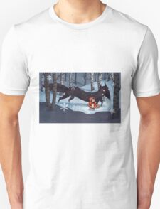Little Red Riding Hood and the Wolf Unisex T-Shirt