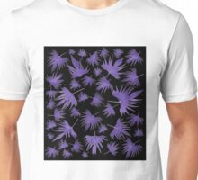 Canary Vine Leaves - Purple  Unisex T-Shirt
