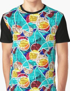Abstraction . Cherry. Graphic T-Shirt