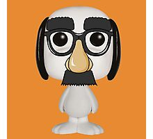 snoopy funny mask Photographic Print