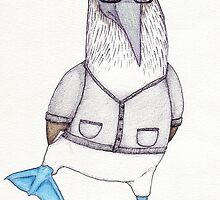 Nathan the Blue-footed Booby by MaryOfExeter