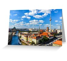 Skyline of Berlin Greeting Card