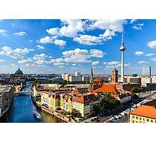Skyline of Berlin Photographic Print