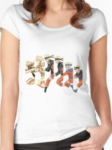 Naruto Grows Up Women's Fitted Scoop T-Shirt