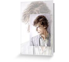 Benedict Cumberbatch miniature BC3 Greeting Card