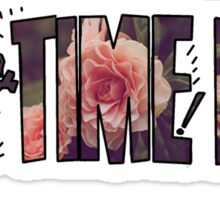 All Time Low - Flower Design Sticker
