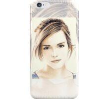 Emma Watson miniature EW7 iPhone Case/Skin