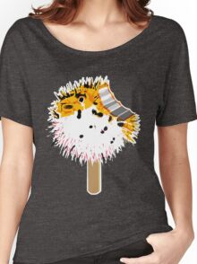 Fish Fugu Ice Cream Women's Relaxed Fit T-Shirt