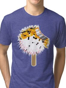 Fish Fugu Ice Cream Tri-blend T-Shirt