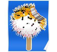 Fish Fugu Ice Cream Poster