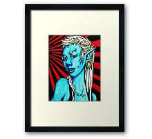 Punk Elf Framed Print