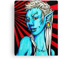 Punk Elf Canvas Print