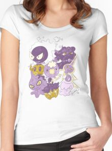 Ghost Babies by VIXTOPHER Women's Fitted Scoop T-Shirt