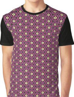 Passionfruit Crescent Flower Graphic T-Shirt
