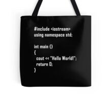 Hello World! C++ Tote Bag