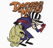 Dastardly & Muttley  Kids Tee