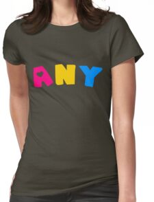 Any (Pansexual) Womens Fitted T-Shirt